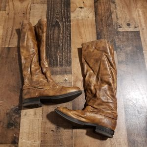 7.5 Madden Girl Brown Boots